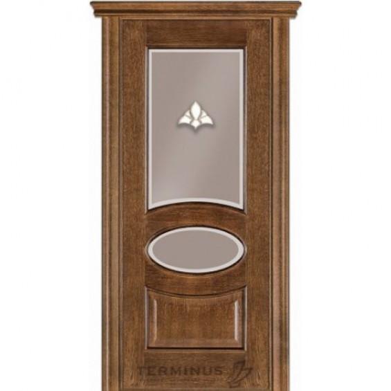 Межкомнатные  двери 55 Дуб браун