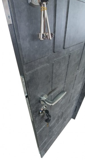 Входные двери Фортнокс Акцент new цемент маренго