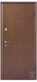 Входные двери Фортнокс Гранд орех темный