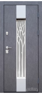 Входные двери Фортнокс Котедж SP3 бетон серый