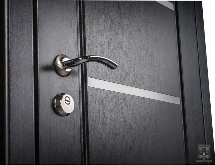 Входные двери Фортнокс Стандарт Айсберг графит