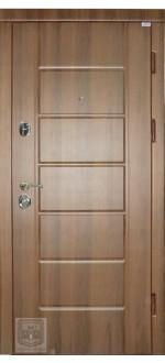 Входные двери Фортнокс Стандарт орех белоцерковский