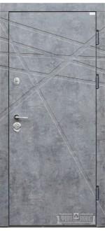 Входные двери Фортнокс Стандарт мрамор темный