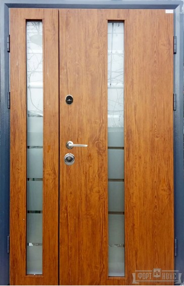 Входные двери Фортнокс Статус SG Дуб золотой 1200