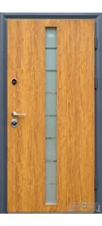 Входные двери Фортнокс Статус SG Дуб золотой