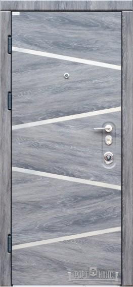 Входные двери Фортнокс Троя Дуб шато