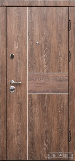 Входные двери Фортнокс Троя дуб шале корица