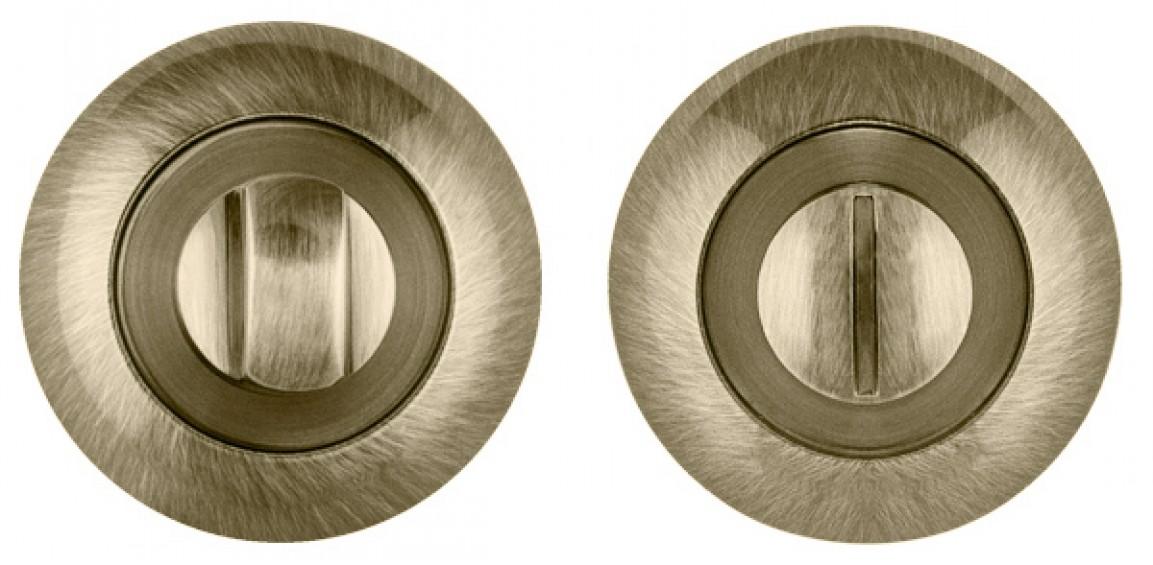 Накладка на фиксатор круглая бронза