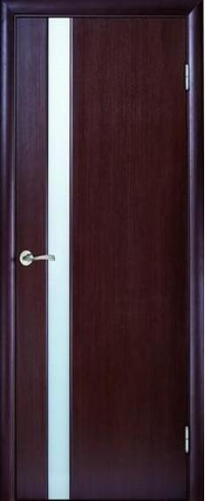 """Межкомнатные двери Глазго 1 Триплекс """"Молочный"""""""