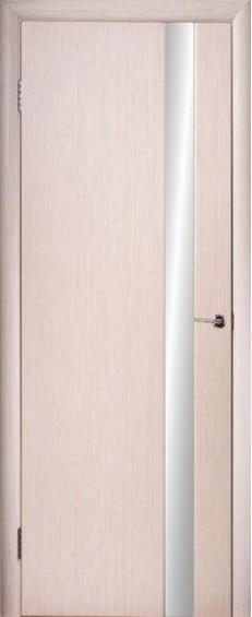 """Межкомнатные двери Глазго 1 Триплекс """"Серебро"""""""