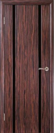 """Межкомнатные двери Глазго 2 Триплекс """"Черный"""""""