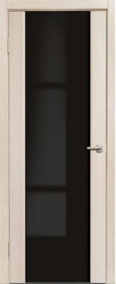 """Межкомнатные двери Глазго Триплекс """"Черный"""""""