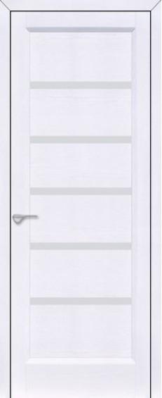 Двери межкомнатные Горизонталь 1 Белый дуб