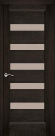 Двери межкомнатные Горизонталь 2 Орех темный