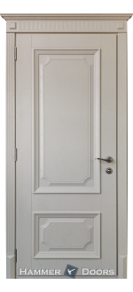 Двери межкомнатные  CLM-45 белый мат