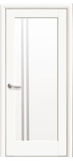 Двери межкомнатные Делла Белый мат