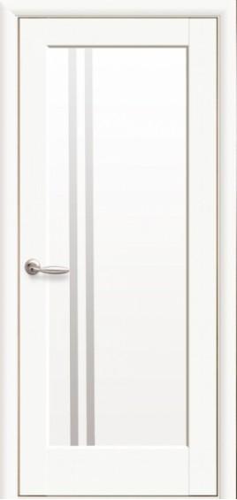 Межкомнатные  двери Делла Белый мат