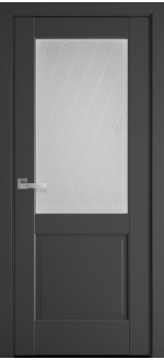 Двери межкомнатные Эпика Антрацит