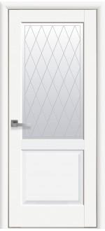 Двери межкомнатные Эпика Белый мат