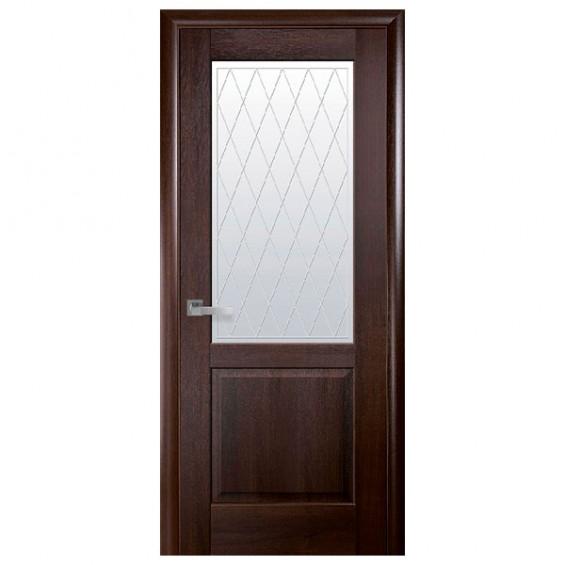 Межкомнатные  двери Эпика каштан