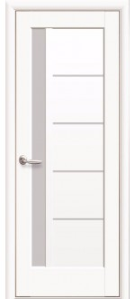 Двери межкомнатные Грета Белый мат