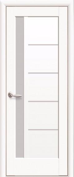 Межкомнатные  двери Грета Белый мат
