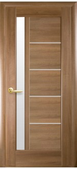 Двери межкомнатные Грета Золотая ольха