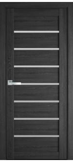 Двери межкомнатные Леона Дуб серый