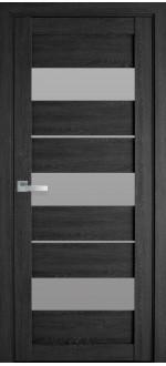 Двери межкомнатные Лилу Дуб серый