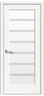 Двери межкомнатные Линнея Белый мат