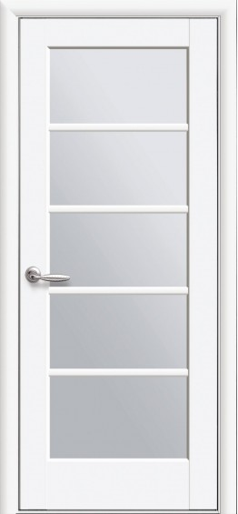 Межкомнатные  двери Муза Белый мат