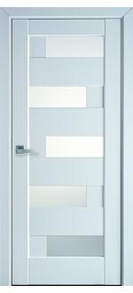 Двери межкомнатные Пиана Белый мат