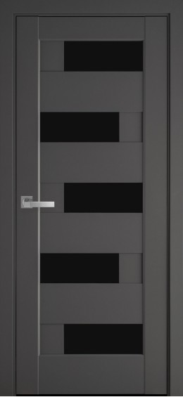 Межкомнатные  двери Пиана Антрацит