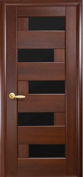 Межкомнатные  двери Пиана каштан