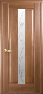 Двери межкомнатные Премьера Золотая ольха