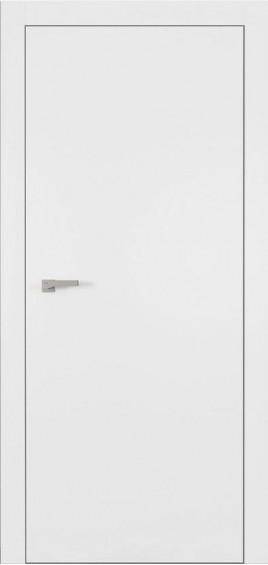 Межкомнатные двери А1 Art Vision белый мат глухое