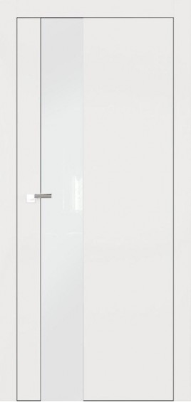 Межкомнатные двери А3 Art Vision белый мат белое стекло