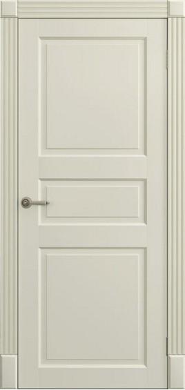 Межкомнатные двери Ницца слоновая кость глухое