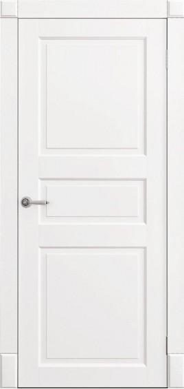 Межкомнатные двери Ницца белый мат глухое