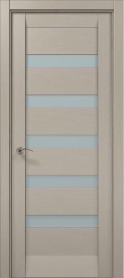 Межкомнатные  двери ML-02 Дуб крем брашированный