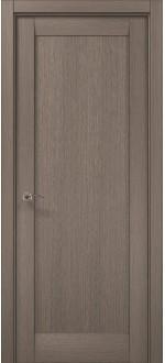 Двери межкомнатные MILLENIUM ML-00F Дуб серый брашированный