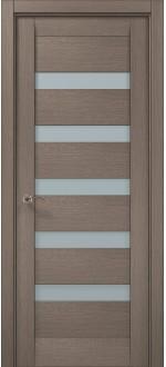 Двери межкомнатные MILLENIUM ML-02 Дуб серый брашированный