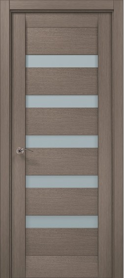 Межкомнатные  двери ML-02 Дуб серый брашированный