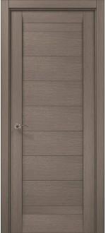 Двери межкомнатные MILLENIUM ML-04 Дуб серый брашированный