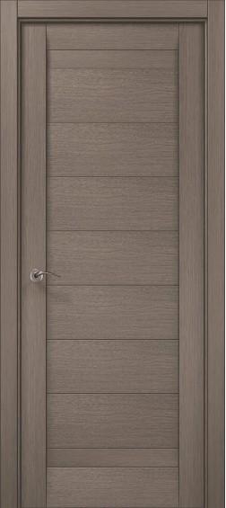 Межкомнатные  двери ML-04 Дуб серый брашированный