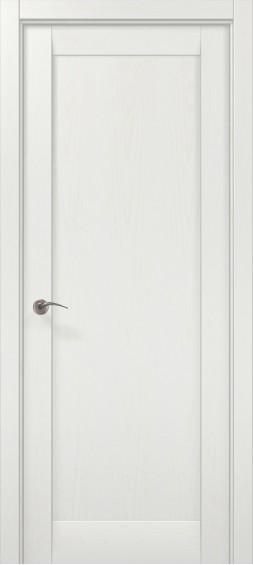 Межкомнатные  двери ML-00F Ясень белый