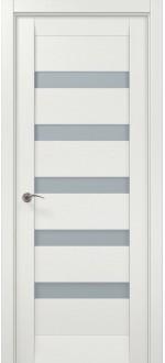 Двери межкомнатные MILLENIUM ML-02 Ясень белый