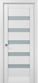 Двери межкомнатные MILLENIUM ML-02 Белый мат