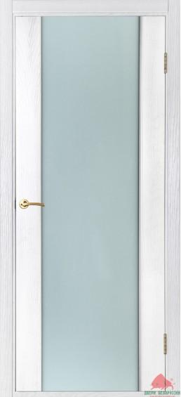 Межкомнатные двери Соня белый ясень 80см