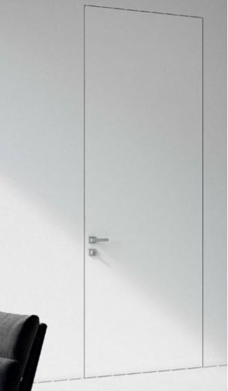 Скрытые двери Invisible белая эмаль